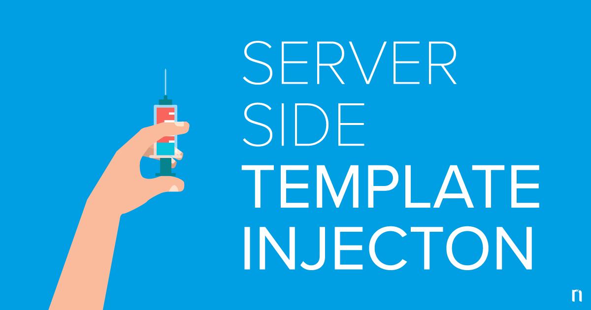 Server Side Template Injection Zafiyeti